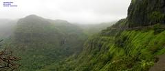 Panorama 12 (Prof.Suresh G. Isave) Tags: varandha onedaytrek tourists attractions near pune maharashtratourism monsoon spots rainy bhor