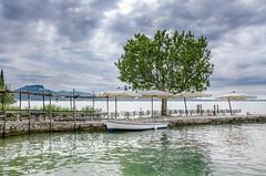 Stunning location (hjuengst) Tags: italien italy clouds garda italia cloudy wolken torri lakegarda lagodigarda gardasee