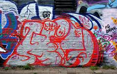 graffiti amsterdam (wojofoto) Tags: amsterdam graffiti wojofoto wolfgangjosten nederland netherland holland ndsm hi5