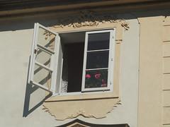 Prague Window (Grazerin/Dorli B.) Tags: prague czech republic detail street window elements