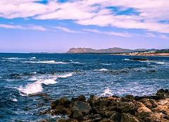 on the rocks (claudia.kiel) Tags: rocks kreta greece crete griechenland seashore surge mediterraneansea felsen chania brandung mittelmeer