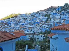 Chefchaouen Village (Ellsasha) Tags: northafrica morocco chefchaouen blues cityscape