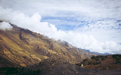 sky and clouds (Pablo Azurudy) Tags: per machu picchu road clouds sky mountains hills los andes cordillera