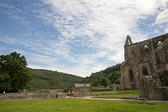 The view from Tintern Abbey