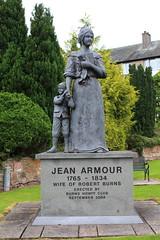 Jean Armour, Wife of Robert Burns, Dumfries, Scotland. (Barry Miller _ Bazz) Tags: robertburns dumfries jeanarmour poet scotland statue