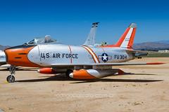 USAF 53-1304 (rcspotting) Tags: rcspotting avgeek wwwrodrigocozzatocombr rodrigo cozzato eua usa california march air field museum riverside usaf 531304 united states force north american f86h sabre