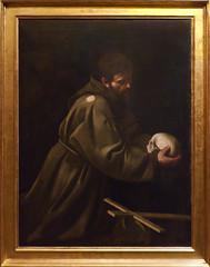(1605) San Francesco in meditazione - Caravaggio (Valerio Mele) Tags: galleriabarberini musei museum roma caravaggio