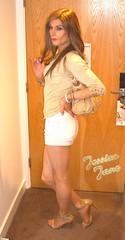 Golden Number (jessicajane9) Tags: tv cd lgbt tgirl trans crossdressing m2f femme feminized transgender transvestite tg
