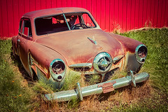 Leap Years (Wayne Stadler Photography) Tags: bc old rust aged rustographer explore sedan automobiles cars photographer vintage travel britishcolumbia car rusty rustography canada antique classic derelict weathered