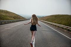 (zlata_chesak) Tags: run running road trip travel udm udmurtia chesakphoto prophotographer prophoto photographer izhevsk girl nature landscape landform smog russia russiansmog