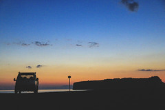 San Nicola Arcella - Calabria (Italy) (Antonello_v) Tags: sunset sun summer van car silhouette twilight colors sea isle calabria italy italia seaside seascape clouds tramonto dramatic water wind cool