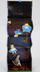 Alice Falling Down the Rabbit Hole Boxed Set - eBay Purchase - Fully Opened - Hanging Up - Full Front View (drj1828) Tags: us disneyland dlr dl60 pin disneypintrading purchase 2016 limitedrelease aliceinwonderland 65th anniversary boxed set falling rabbit hole alice