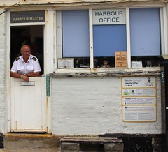 The Master (Garden_Gnome) Tags: cornwall harbour master office pier seaside building st ives england