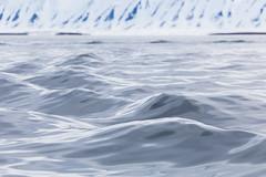 Worsleyneset-Andoyane Smooth Arctic Waves 2016 Lauri Novak (LauriNovakPhotography) Tags: arctic svalbard spitsbergen sea water ocean ice mountain blue calm peaceful cold cool waves andoyane norway worsleyneset travel