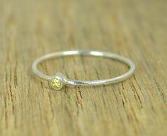 Tiny Topaz Ring, Top (alaridesign) Tags: tiny topaz ring stacking sterling mothers november birthstone dainty by alaridesign