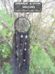DC.spiderweb 01a (zreekee) Tags: dreamcatcher sparkledoomdesigns goth spider saskatchewan
