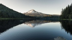 Sunset timelapse at Trillium Lake (Robie..) Tags: trilliumlake oregon timelapse sunset nikond750