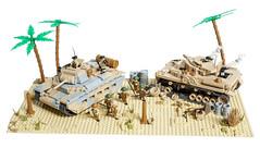 COBI Matilda II MOD (Adam Purves (S3ISOR)) Tags: cobi worldoftanks matilda matilaii tank smallarmy wwii ww2 worldwar2 worldwarii desertwar british australian allies military blocks bricks lego diorama 3011 infantry panzerkampfwagen panzer panzeriv german