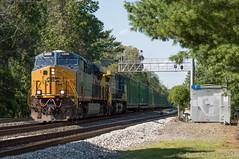 Q409-23 @ Bogota, NJ (Dan A. Davis) Tags: csx railroad freighttrain newjersey nj dumont railroadphotography es44ah cw44ah cw44ac ac44cw q409