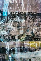 2200-0400 (pni) Tags: poster text writing surface multiexposure multipleexposure tripleexposure helsinki helsingfors finland suomi pekkanikrus skrubu pni