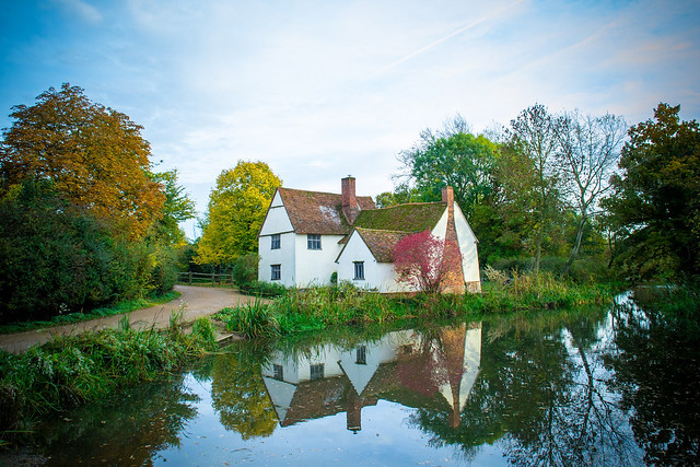Cottage in Suffolk, near Flatford