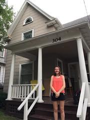 304 E. Madison Porch (kbreenbo) Tags: 2016 annarbor uofm goodbye movingout movingon graduate graduating