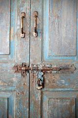 Old green door (nagillum) Tags: green oldgreendoor latch
