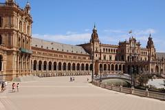 SEVILLA - Plaza de Espaa (mauro gambini) Tags: sevilla siviglia plazadeespana spagna spain andalucia andalusia anbalgonzlezlvarezossorio
