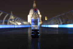 IMG_7427 (Crab2222) Tags: pink blue light bw black london eye tower yellow night towerbridge dark 50mm lights big bottle purple angle ben bokeh south wide bank londoneye bigben coke wideangle tunnel southbank knight lamplight cocacola diet dslr 11pm darknight lamplights 70d