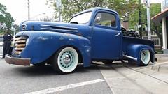 Ford F-Series Blues (explored) (Michel Curi) Tags: blue classic ford vintage riverside florida pickup f1 explore springfest jacksonville trucks fl fivepoints flickrexplore explored lovefl iwantjacksonville