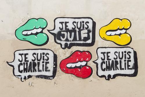 Je Suis Charlie Graffiti