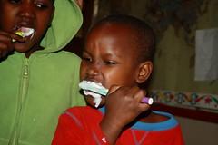 Tanden poetsen - Pendo