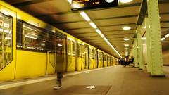 U Bahn (Coquine!) Tags: berlin station germany underground deutschland doubleexposure hauptstadt bahnhof ubahn kurfrstenstrase christianleyk