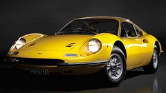"Ferrari Dino to return? ""not a question of if but when"" (iBSSR who loves comments on his images) Tags: italy classic yellow price design italian dino auction wheels icon ferrari made question l series 1970 gt pininfarina scaglietti 246 lseries centrelock 'knockon'"