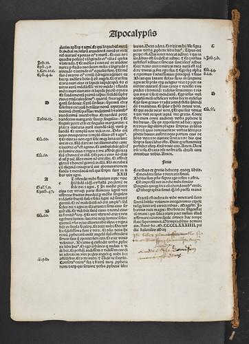 Ownership inscriptions in  Biblia latina