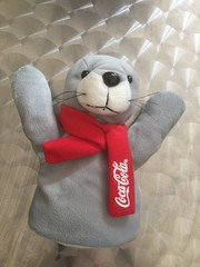 Coca-Cola Seal - Hand Puppet - Fast Food  Diner Promotion Item. (firehouse.ie) Tags: toy promo soft hand cola puppet drink coke pop soda cocacola promotional item coca therealthing notpepsi pepsichallenge