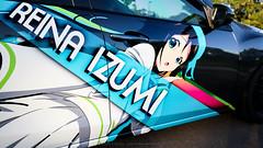 2010 Mazda3 Itasha : Izumi Reina (Julio (Axela Media)) Tags: mazda mazda3 car automotive jdm itasha wrap custom texas austin corksport art creative