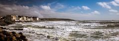 Coup de vent sur Wimereux (pierrelouis.boniface) Tags: seascape france water clouds canon wind 6d wimereux