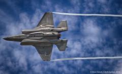 F-35B Lightning II (CdnAvSpotter) Tags: us fighter martin jet ii marines lightning lockheed fia farnborough vtol 2016 f35b