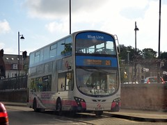 FirstNorwich 36170 - BD11CFP (Zak (Norwich Bus Page)) Tags: blueline 2016 36170 firstnorwich bd11cfp volvob9tlwrighteclipsegemini2 routefec26