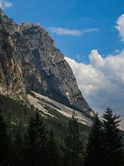 Pomagnon (sgl0jd) Tags: dolomites dolomiti italy italia tirol mountains viaferrata mountaineering lakegarda lagodigarda cortinadampezzo corvarainbadia scrambling climbing