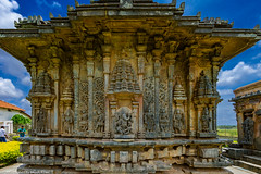 Bucheshwara Temple - Koravangala (bikashdas) Tags: karnataka india ind hassan karntaka karnatakatourism hoyasalaarchitechture koravangala bucheshwara temple hoysala hoysalaarchitectures bucheshwaratemple hassan heritage