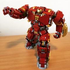 (henrypinto) Tags: lego ironman marvel hulkbuster legomarvel legohulkbuster