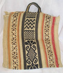 Nahua Woven Bag Milpa Alta Mexico (Teyacapan) Tags: mexico df mexican bags textiles weaving bolsas tejidos milpaalta tlacotenco