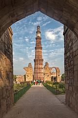 Qutab Minar, Delhi, India (bfryxell) Tags: arch delhi india minaret qutabminar