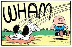 WHAM (Tom Simpson) Tags: peanuts charliebrown snoopy comics illustration comicstrip newspapercomics charlesmschulz 1954 1950s