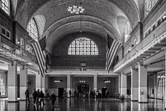 Main Hall Ellis Island (mdavies149) Tags: ellisisland manhattan newyork islands bw usa nikon d600 michaeldavies travel ruby3