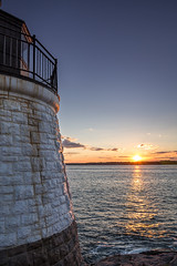 Castle Hill lighthouse, Newport, RI, USA (richardwahlstedt) Tags: lighthouse