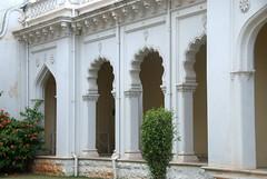 Arches of The Palace (VinayakH) Tags: india gardens royal palace hyderabad royalpalace nizam telangana chowmahallapalace