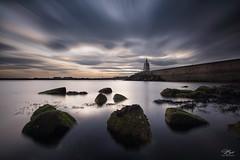 Time and again (Steve Clasper) Tags: uk longexposure coast pier rocks north coastal filter northern northeast headland hartlepool nd110 steveclasper piloyspier